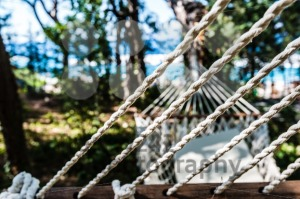 Abstract : Empty hammock at the beach - franky242 photography