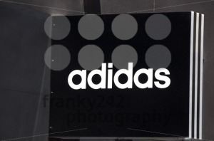 Adidas sign on store - franky242 photography