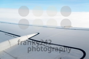 Airplane wing - franky242 photography