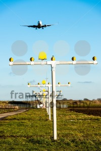 Airport landing lights - franky242 photography
