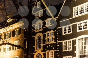 Amsterdam Facades At Night - franky242 photography