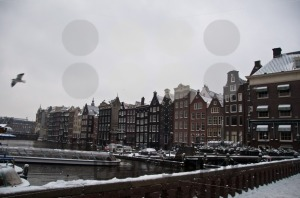 Amsterdam-in-snow