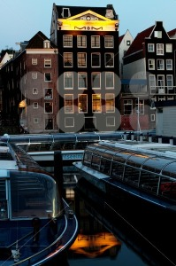 Amsterdam-in-the-evening