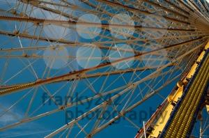 Amusement Park Ferris Wheel - franky242 photography