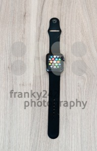 Apple Watch Sport on the table with app screen - franky242 photography