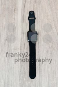 Apple Watch Sport on the table with blank screen - franky242 photography