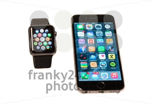 Apple Watch and iPhone - franky242 photography