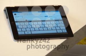 Apple iPad with Facebook Website - franky242 photography