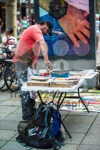 Artist in public - franky242 photography