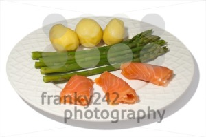 Asparagus-with-Salmon