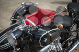 BMW classic sidecar motorbike - franky242 photography