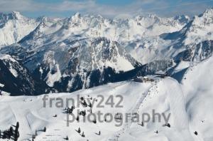 Beautiful Winter Mountain Panorama - franky242 photography