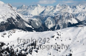 Beautiful Winter Mountain Panorama - franky242 photography