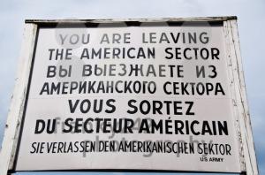 Berlin-8211-Leaving-American-Sector