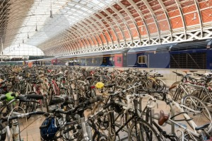 Bikes at Paddington Station - franky242 photography