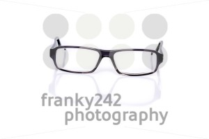 Black Eye Glasses On White - franky242 photography