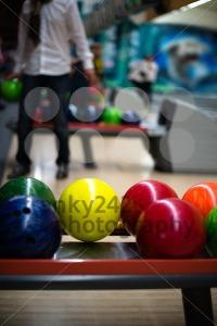 Bowling-scene