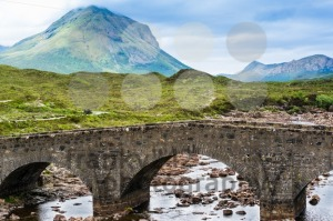 Bridge at Sligachan in Scotland - franky242 photography