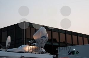 Broadcast Truck of SWR in Stuttgart, Germany - franky242 photography