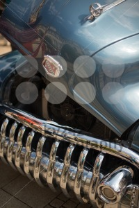 Buick Eight classic car with open hood - franky242 photography