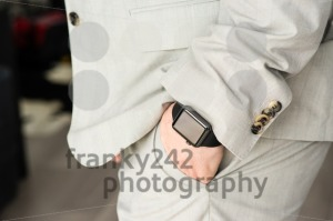 Businessman wearing the Apple Watch - franky242 photography
