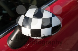 Checkered-Exterior-Side-View-Mirror