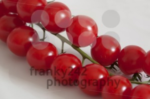 Cherry tomatoes on the vine - franky242 photography