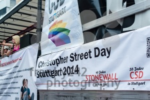 Christopher Street Day 2014 in Stuttgart, Germany - franky242 photography