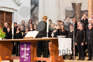 Church choir during worship service - franky242 photography