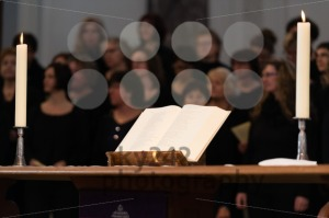 Church choir during worship service - franky242 photography