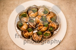 Close up of Escargots with garlic butter - franky242 photography