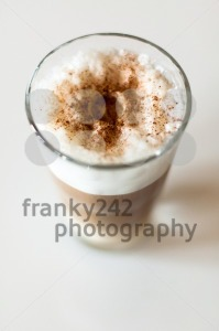 Coffee Latte In A Tall Glass - franky242 photography