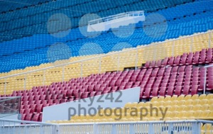 Colourful tribunes - franky242 photography