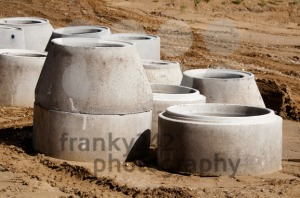Concrete Drainage Pipes - franky242 photography