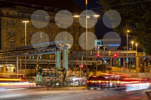 Construction site of Stuttgart 21 at night - franky242 photography