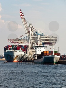 Container-Ships-in-Hamburg-Harbor-Germany