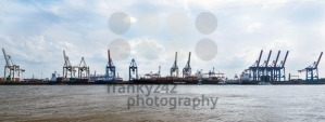 Container Terminal Burchardkai in the Port of Hamburg - franky242 photography