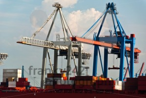 Container-Terminal-in-Hamburg-Harbor-Germany
