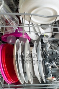 Dishwasher after cleaning process - franky242 photography