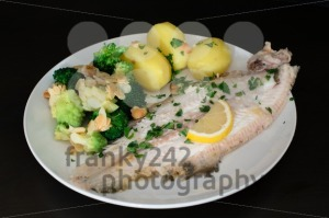 Dover sole fish dinner - franky242 photography