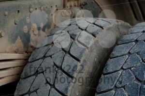 Dump Truck Tires - franky242 photography