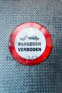 Dutch no parking sign - franky242 photography