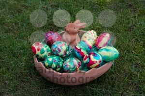 Easter basket in grass - franky242 photography