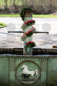 Easter fountain - franky242 photography
