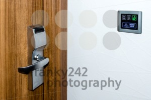 Electronic Hotel  Doorplate - franky242 photography