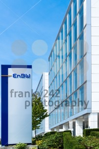 EnBW main offices in Stuttgart,Germany - franky242 photography