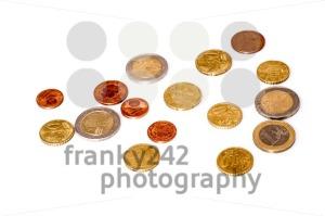 Euros coins - franky242 photography