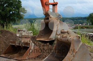 Excavator shovels - franky242 photography