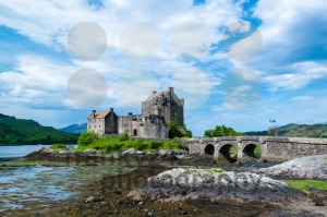 Famous Eilean Donan Castle in the highlands of Scotland - franky242 photography