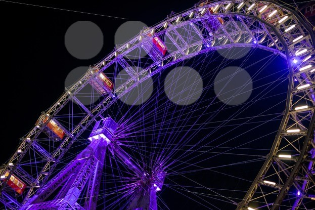 Ferris Wheel At Night - franky242 photography